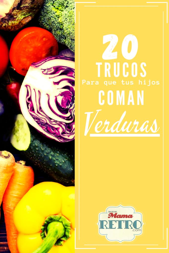 20 trucos para que tus hijos coman verduras