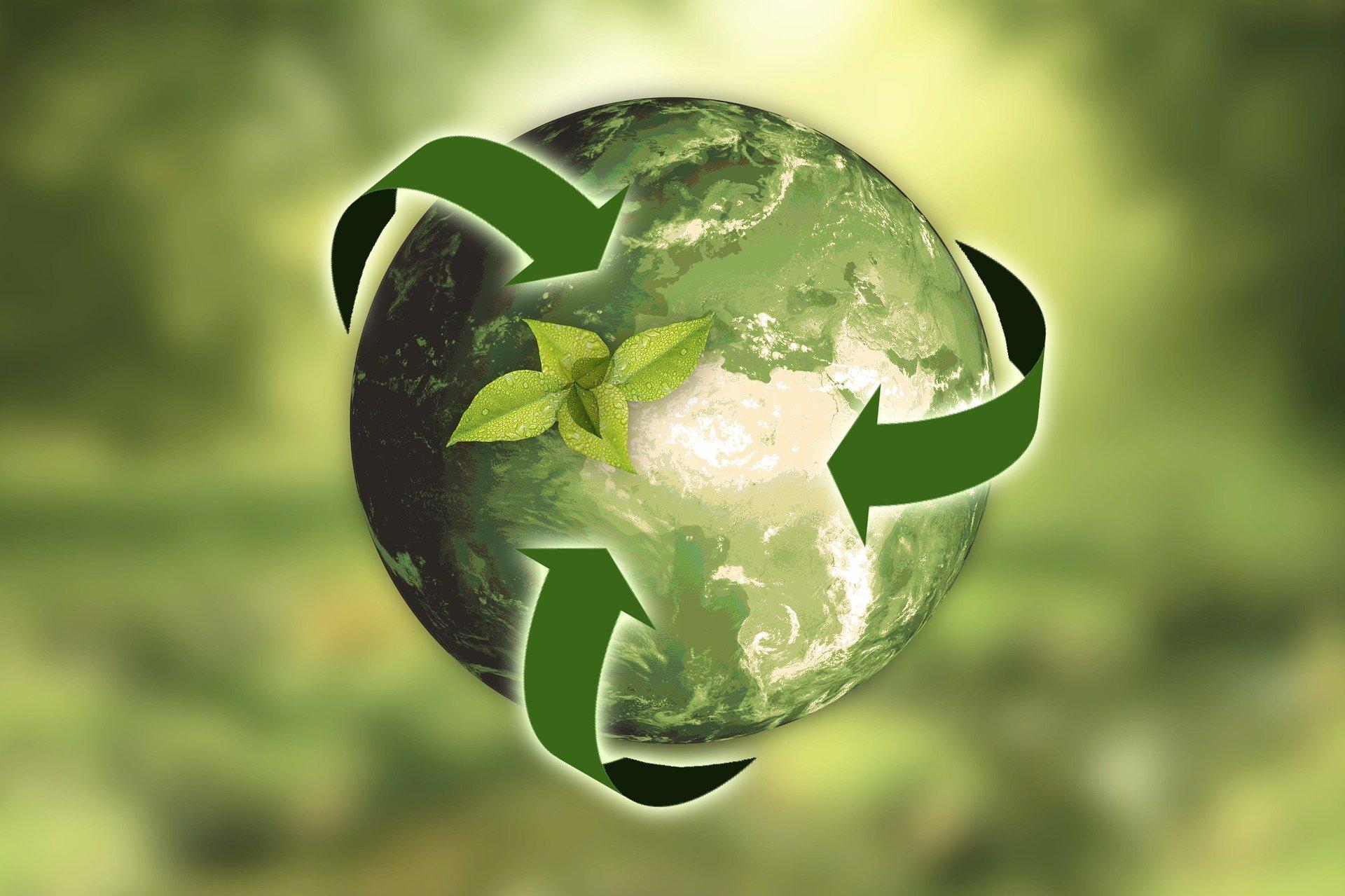 reciclar y relucir la tierra