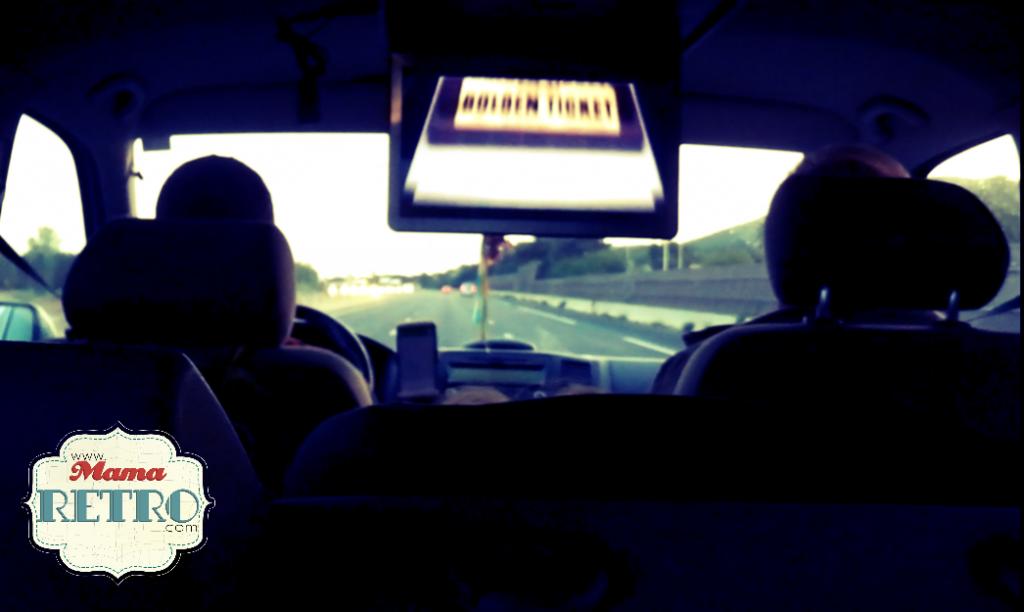 Una pantalla hizo mas ligero el viaje largo en coche