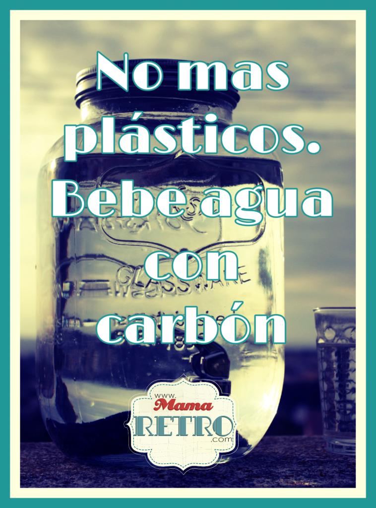Ni plásticos ni dinero derrochado! Ahorra de todo con agua con carbón