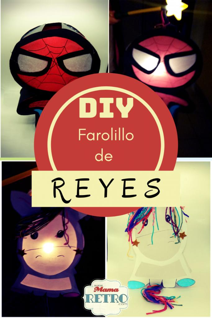 DIY farolillos de reyes spiderman y unicornio