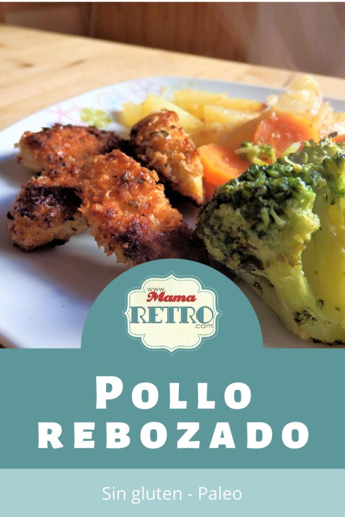 receta de pollo rebozado sin gluten