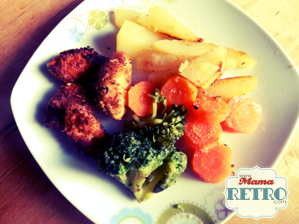 Receta de pollo rebozado. Ideal para combinar con verduras