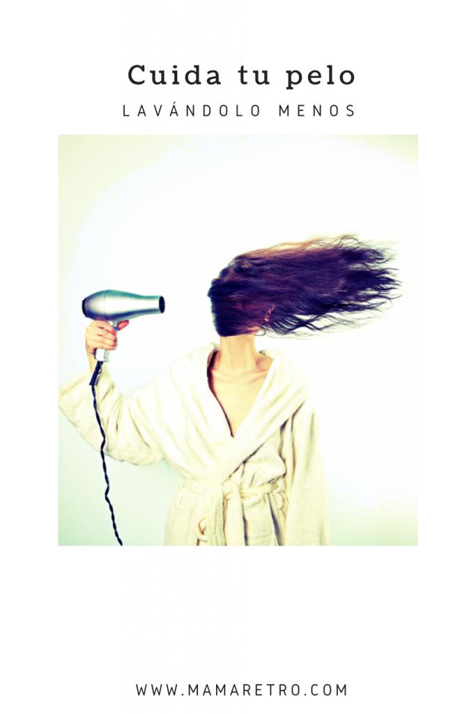 no laves tu pelo a diario