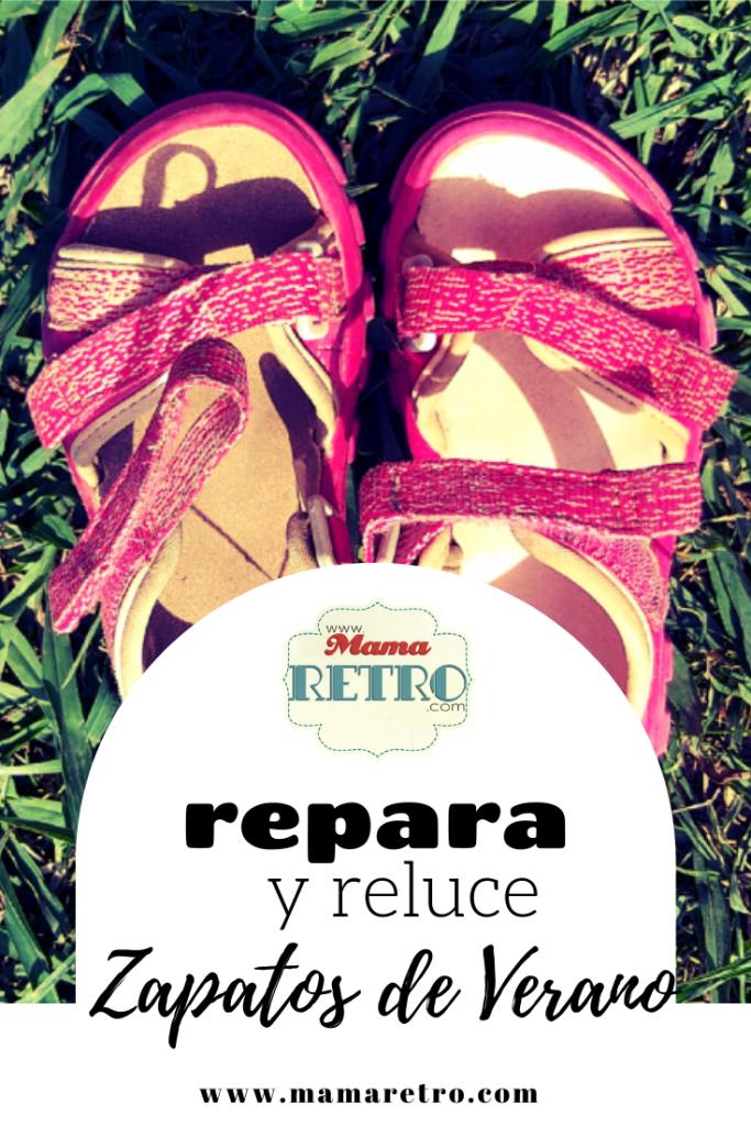 reparar zapatos de verano