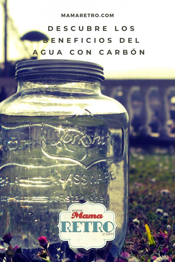 agua con carbón es una alternativa muy ecològica como el agua de grifo