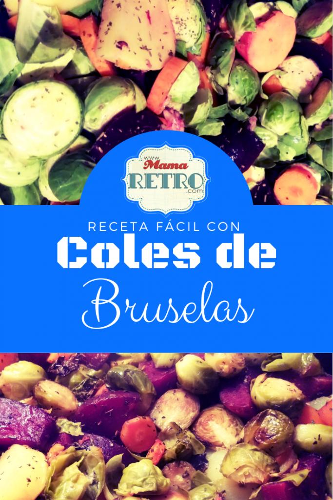 Receta fácil y riquisima de coles de Bruselas