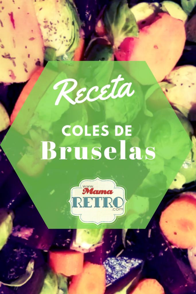 Receta saludable de coles de bruselas