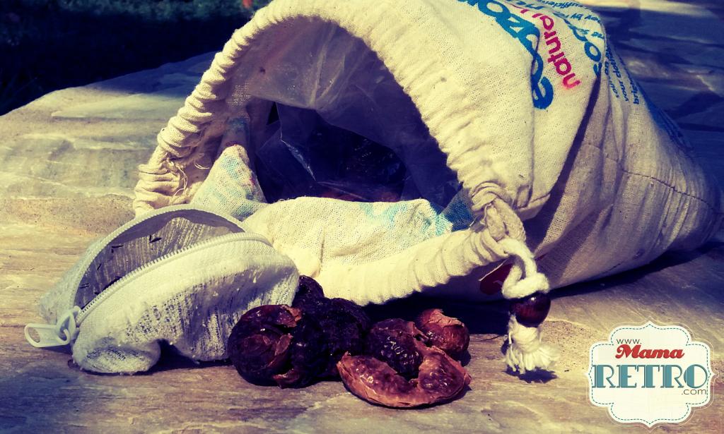 Las nueces de jabón son uno de los cambios ecológicos que se utilizan de hace siglos