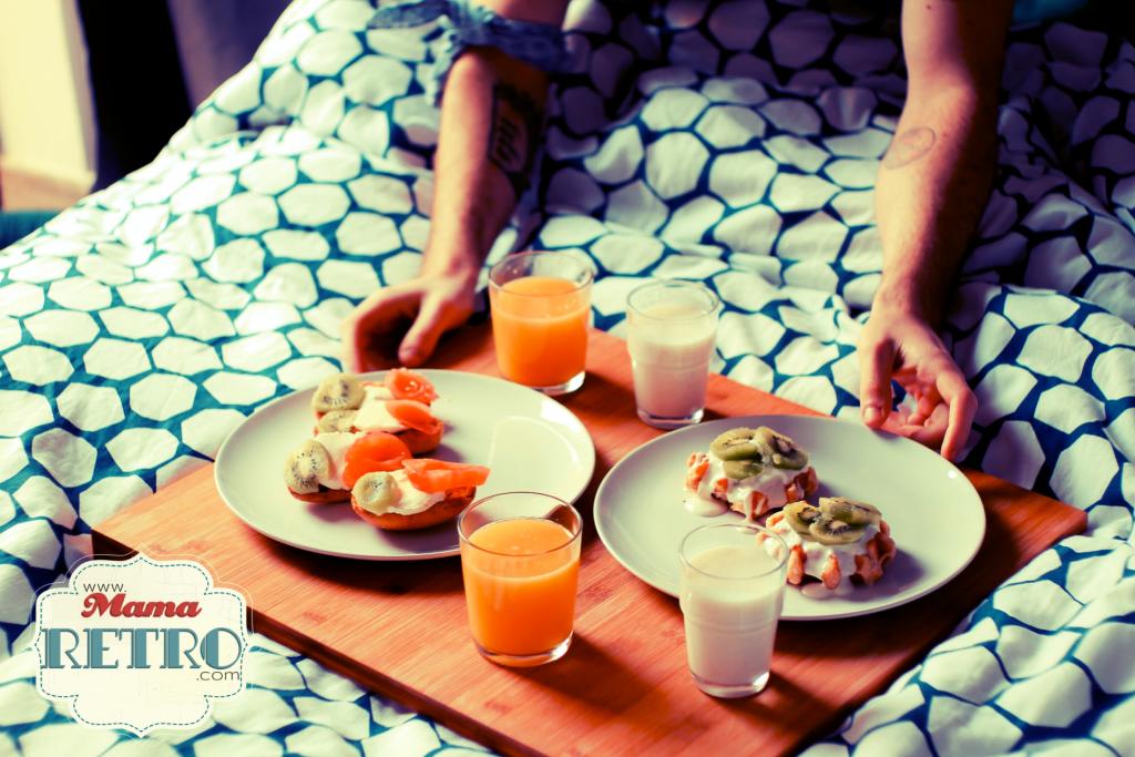 Cuantas veces nos prepraran el desayuno en la cama? Un detalle de regalo ideal para el día del padre.