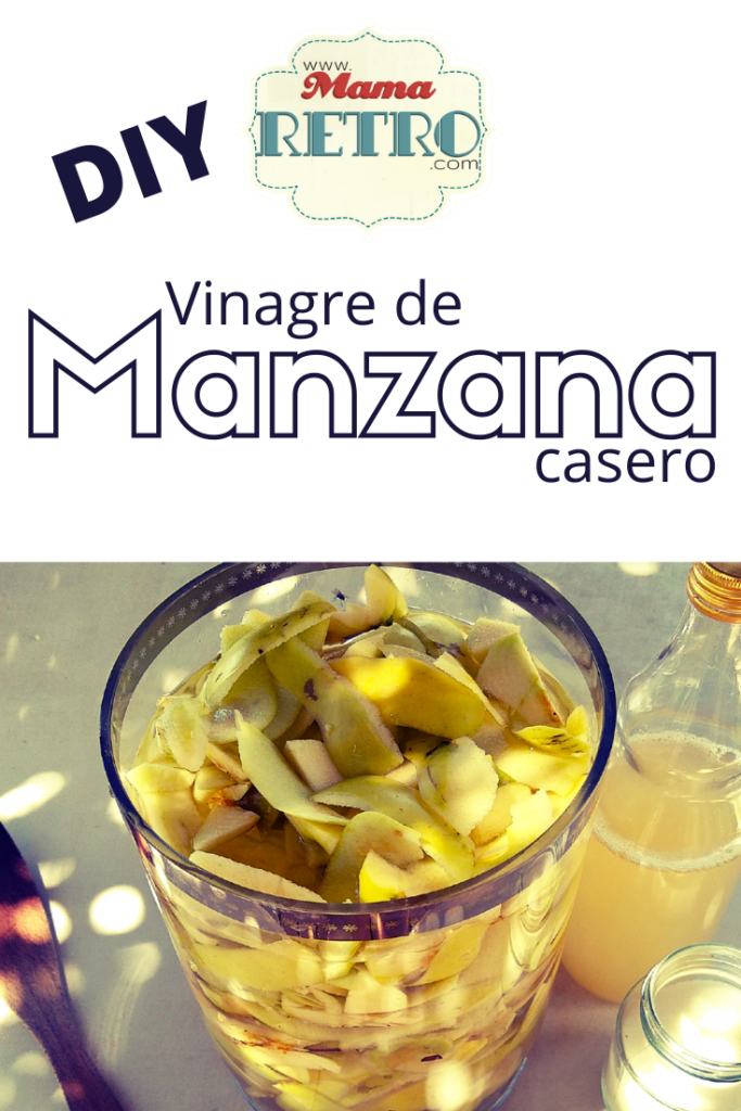 Crea tu propio vinagre casero con agua, azúcar y manzanas