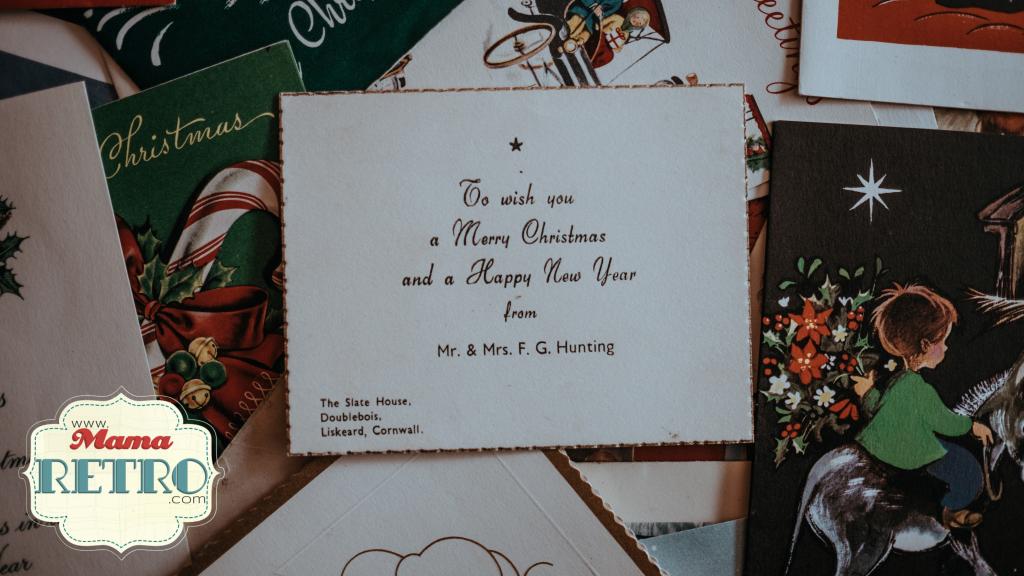 Las felicitaciones forman parte de un buen presupuesto de navidad