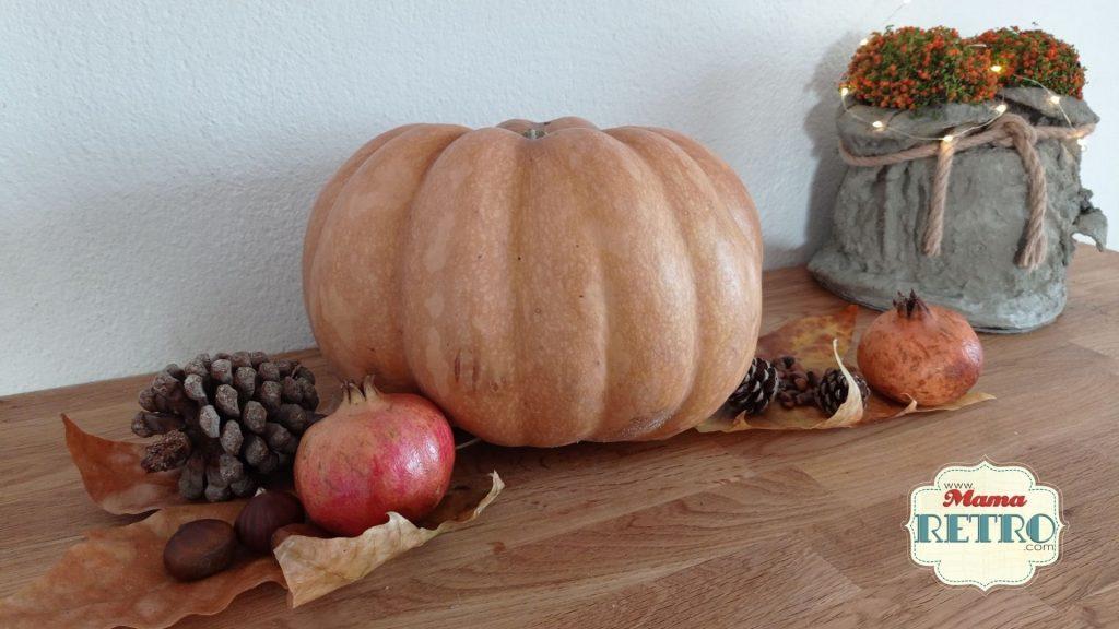 Decoración de otoño simple y sencilla para hacer en familia